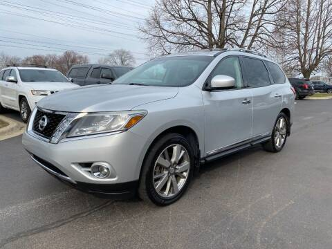 2014 Nissan Pathfinder for sale at VK Auto Imports in Wheeling IL