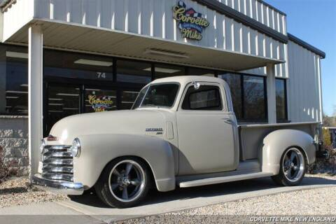 1950 Chevrolet 3100 for sale at Corvette Mike New England in Carver MA