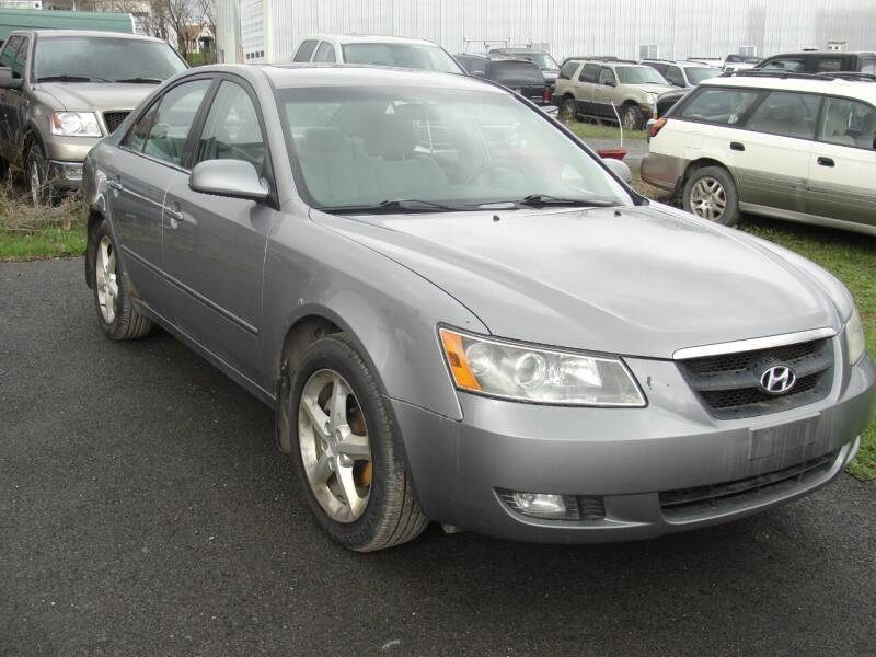 2007 Hyundai Sonata for sale at Turnpike Auto Sales LLC in East Springfield NY