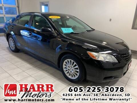 2007 Toyota Camry for sale at Harr Motors Bargain Center in Aberdeen SD