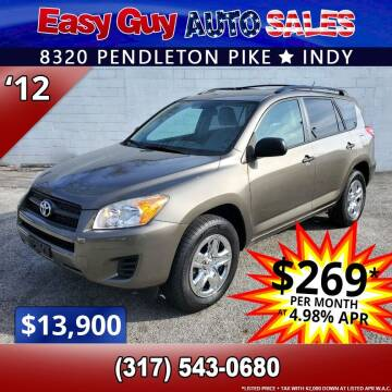 2012 Toyota RAV4 for sale at Easy Guy Auto Sales in Indianapolis IN