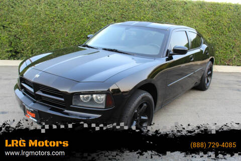 2009 Dodge Charger for sale at LRG Motors in Montclair CA