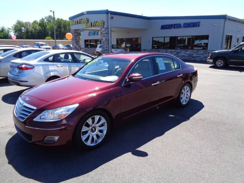 2009 Hyundai Genesis for sale at KARS R US of Spartanburg LLC in Spartanburg SC