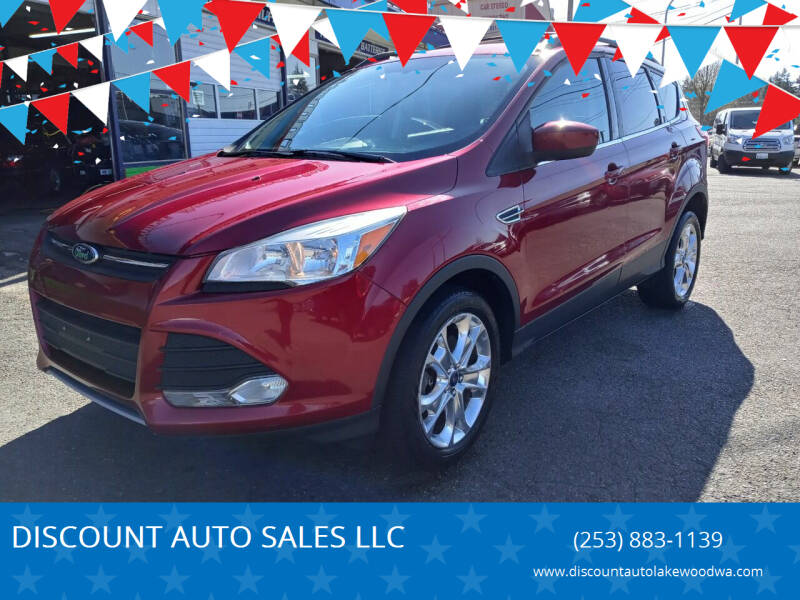 2013 Ford Escape for sale at DISCOUNT AUTO SALES LLC in Spanaway WA