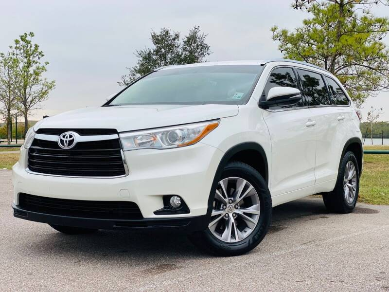 2015 Toyota Highlander for sale at AUTO DIRECT in Houston TX