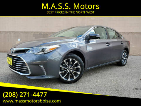 2016 Toyota Avalon for sale at M.A.S.S. Motors in Boise ID