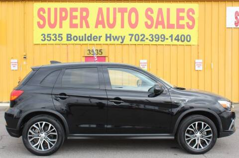 2019 Mitsubishi Outlander Sport for sale at Super Auto Sales in Las Vegas NV