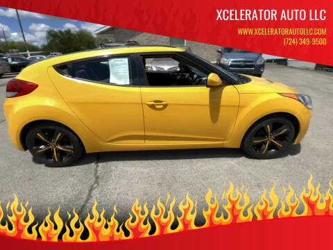 2012 Hyundai Veloster for sale at Xcelerator Auto LLC in Indiana PA
