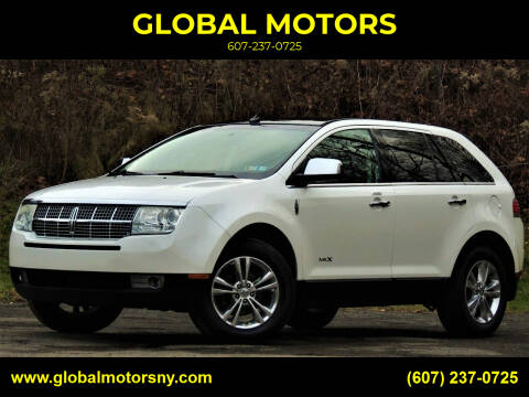 2010 Lincoln MKX for sale at GLOBAL MOTORS in Binghamton NY