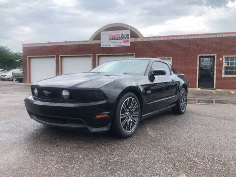 2012 Ford Mustang for sale at Family Auto Finance OKC LLC in Oklahoma City OK