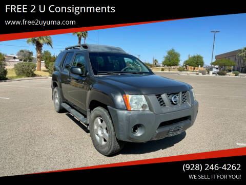 2008 Nissan Xterra for sale at FREE 2 U Consignments in Yuma AZ