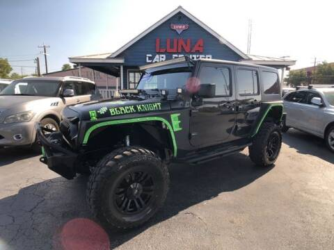 2011 Jeep Wrangler Unlimited for sale at LUNA CAR CENTER in San Antonio TX