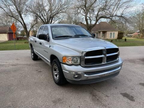 2002 Dodge Ram Pickup 1500 for sale at CARWIN MOTORS in Katy TX
