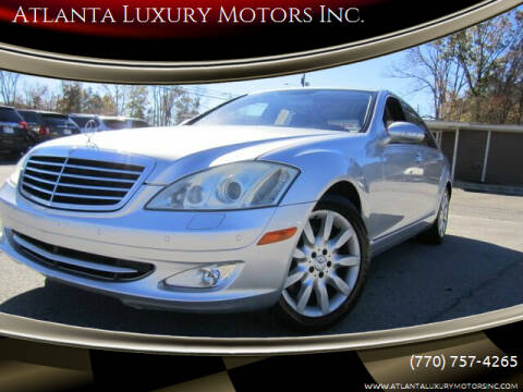 2007 Mercedes-Benz S-Class for sale at Atlanta Luxury Motors Inc. in Buford GA