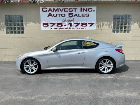 2010 Hyundai Genesis Coupe for sale at Camvest Inc. Auto Sales in Depew NY