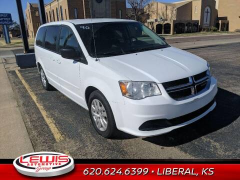 2016 Dodge Grand Caravan for sale at Lewis Chevrolet Buick Cadillac of Liberal in Liberal KS