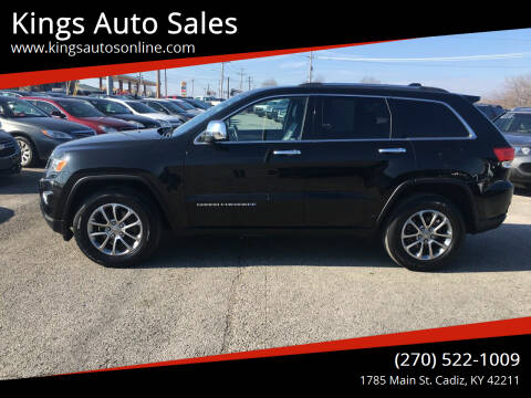 2015 Jeep Grand Cherokee for sale at Kings Auto Sales in Cadiz KY
