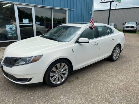 2013 Lincoln MKS for sale at Halvorson Auto in New Rockford ND