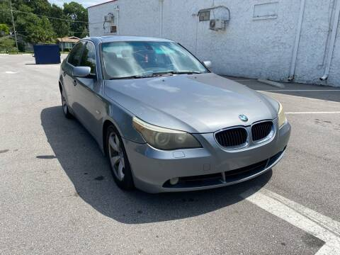 2005 BMW 5 Series for sale at LUXURY AUTO MALL in Tampa FL