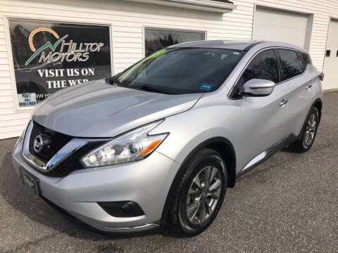 2016 Nissan Murano for sale at HILLTOP MOTORS INC in Caribou ME