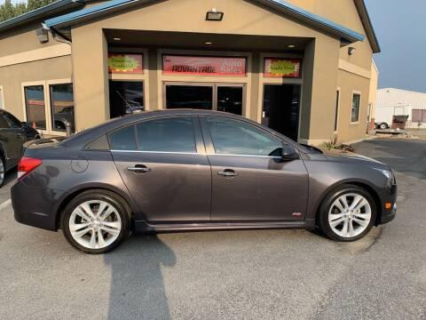 2014 Chevrolet Cruze for sale at Advantage Auto Sales in Garden City ID