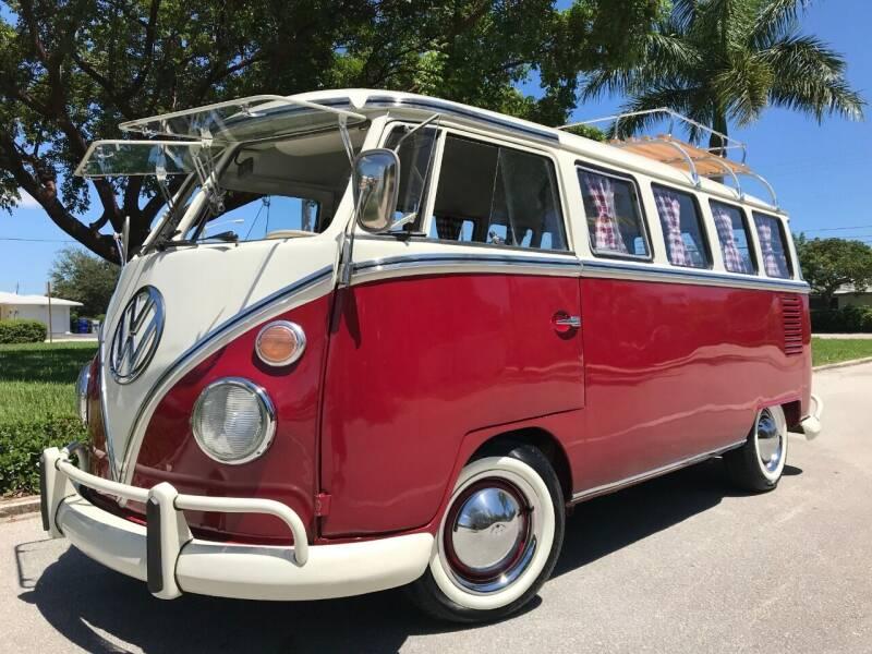 1971 Volkswagen Bus for sale at DS Motors in Boca Raton FL