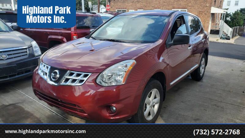 2012 Nissan Rogue for sale at Highland Park Motors Inc. in Highland Park NJ