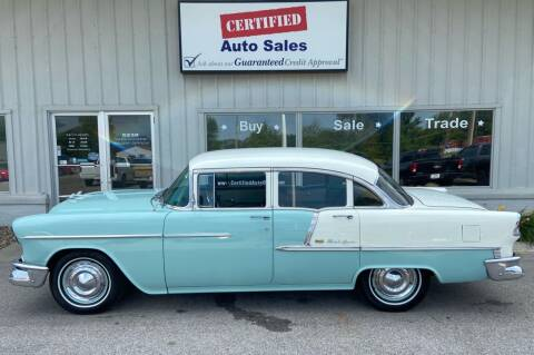 1955 Chevrolet Bel Air for sale at Certified Auto Sales in Des Moines IA
