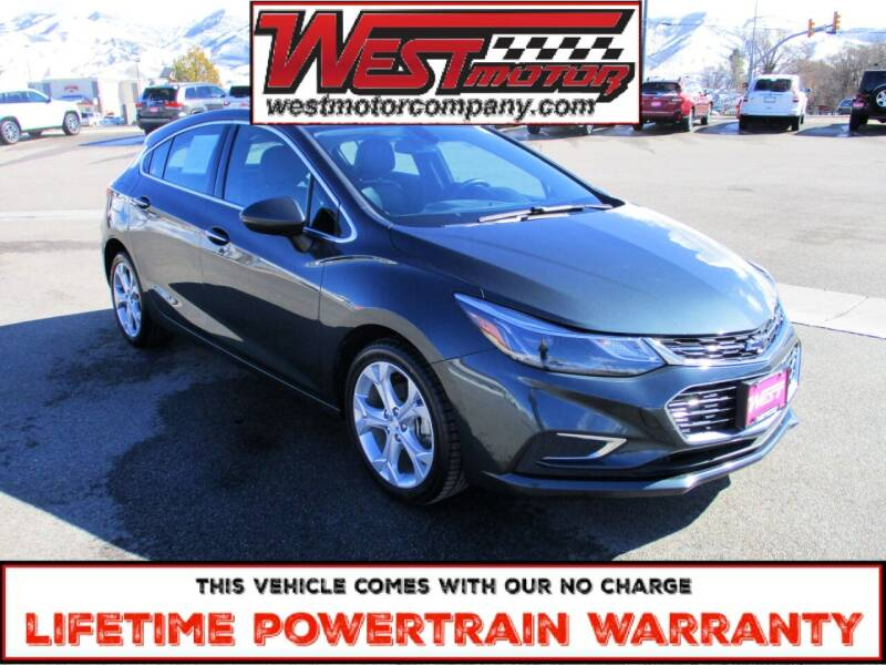 2018 Chevrolet Cruze for sale at West Motor Company in Preston ID