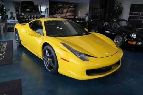 2013 Ferrari 458 Italia for sale at OC Autosource in Costa Mesa CA