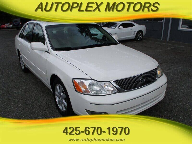 2002 Toyota Avalon for sale at Autoplex Motors in Lynnwood WA