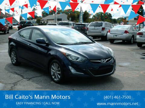 2014 Hyundai Elantra for sale at Bill Caito's Mann Motors in Warwick RI