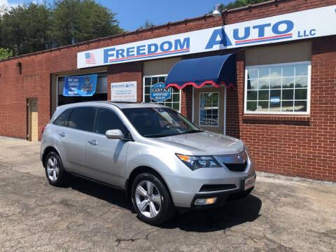 2011 Acura MDX for sale at FREEDOM AUTO LLC in Wilkesboro NC