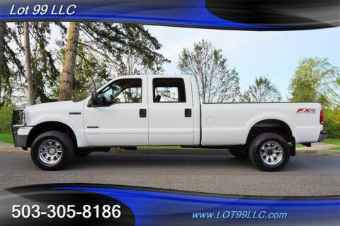 2005 Ford F-350 Super Duty for sale at LOT 99 LLC in Milwaukie OR