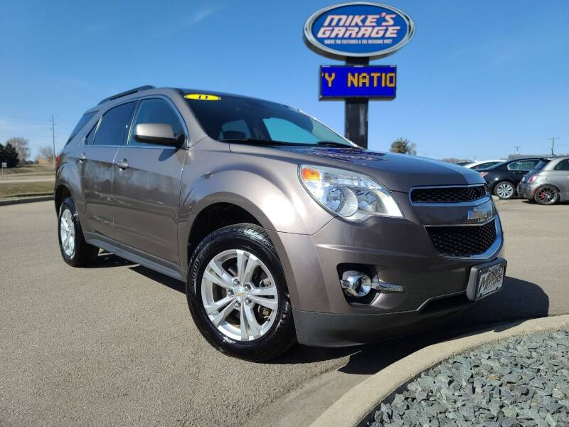 2011 Chevrolet Equinox for sale at Monkey Motors in Faribault MN