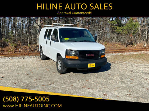2013 GMC Savana Cargo for sale at HILINE AUTO SALES in Hyannis MA