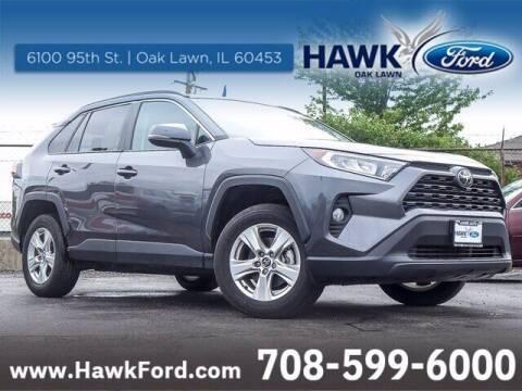 2021 Toyota RAV4 for sale at Hawk Ford of Oak Lawn in Oak Lawn IL
