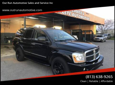 2004 Dodge Durango for sale at Out Run Automotive Sales and Service Inc in Tampa FL