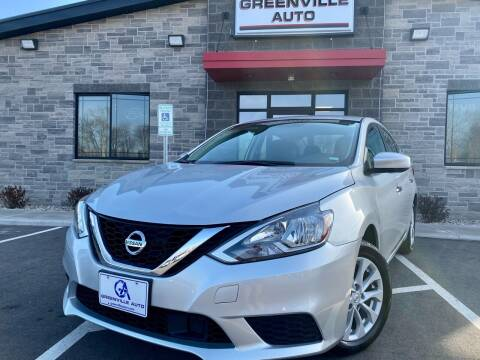 2019 Nissan Sentra for sale at GREENVILLE AUTO in Greenville WI