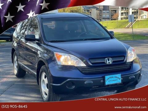 2007 Honda CR-V for sale at Central Union Auto Finance LLC in Austin TX