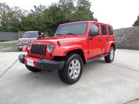 2016 Jeep Wrangler Unlimited for sale at Ingram Motor Sales in Crossville TN