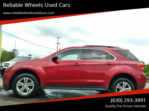 2013 Chevrolet Equinox for sale at Reliable Wheels Used Cars in West Chicago IL