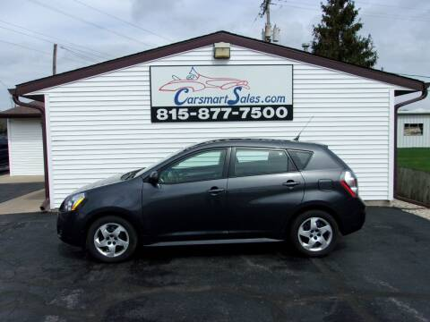 2010 Pontiac Vibe for sale at CARSMART SALES INC in Loves Park IL