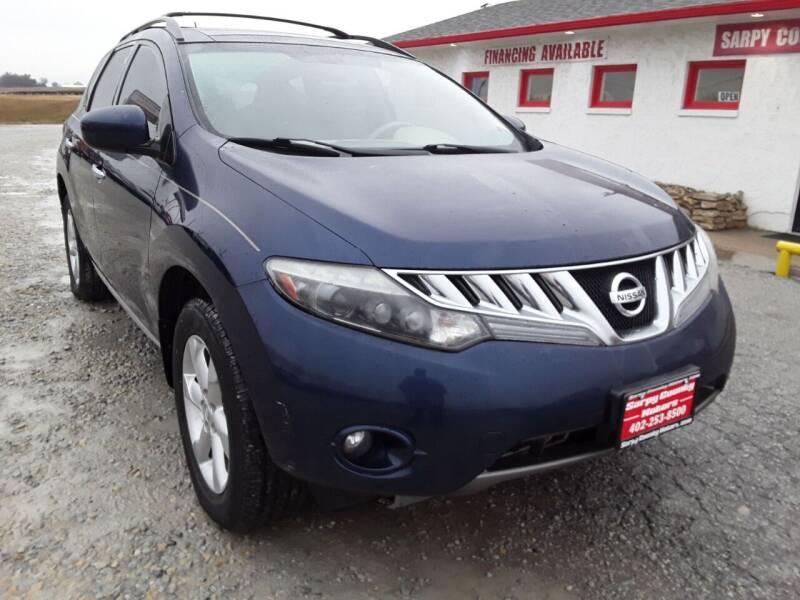 2009 Nissan Murano for sale at Sarpy County Motors in Springfield NE