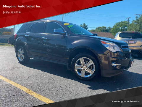 2014 Chevrolet Equinox for sale at Magana Auto Sales Inc in Aurora IL