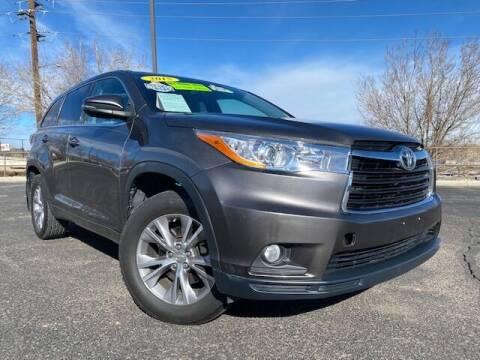 2015 Toyota Highlander for sale at UNITED Automotive in Denver CO