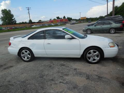 2001 Acura CL for sale at SCOTT HARRISON MOTOR CO in Houston TX