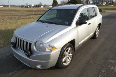 2008 Jeep Compass for sale at WESTERN RESERVE AUTO SALES in Beloit OH