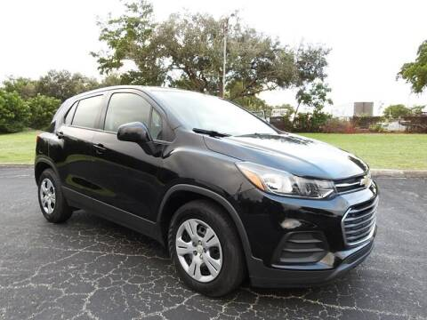 2017 Chevrolet Trax for sale at SUPER DEAL MOTORS 441 in Hollywood FL