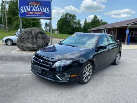 2012 Ford Fusion for sale at Sam Adams Motors in Cedar Springs MI